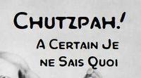 RPG: Chutzpah! A Certain Je ne Sais Quoi