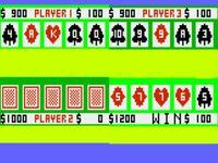 Video Game: Blackjack/Poker/Acey-Deucey