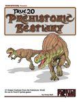 RPG Item: True20 Prehistoric Bestiary