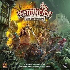 Zombicide: Green Horde Cover Artwork