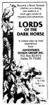 RPG: Lords of the Dark Horse