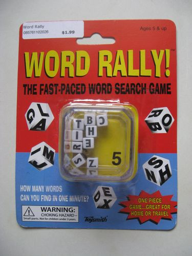 Board Game: Word Rally!