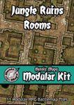 RPG Item: Heroic Maps Modular Kit: Jungle Ruins Rooms