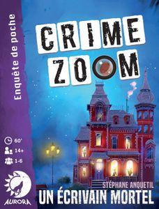 Crime Zoom: Un écrivain mortel Cover Artwork
