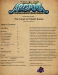 RPG Item: The Caves of Valesh Kanos