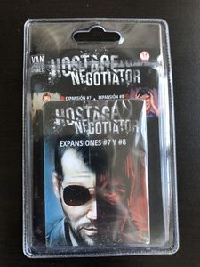Hostage Negotiator: Expansiones #7 y #8 Cover Artwork