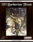 RPG Item: 101 Barbarian Feats