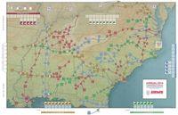 Board Game: Confederate Rails: Railroading in the American Civil War 1861-1865
