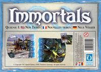 Board Game: Immortals: Queenie 1 – New Tribes