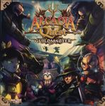 Board Game: Arcadia Quest: Guildmaster Kickstarter Heroes