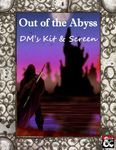 RPG Item: Out of the Abyss DM's Kit & Screen