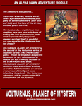 RPG Item: SF1: Volturnus, Planet of Mystery (Digitally Remastered)