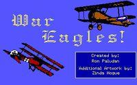 Video Game: War Eagles