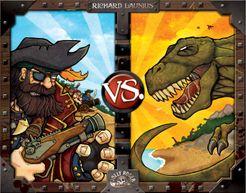 Pirates vs. Dinosaurs Cover Artwork