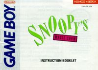 Video Game: Snoopy's Magic Show