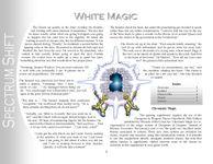 RPG Item: Colours of Magic: White Magic (5E)