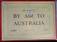 Board Game: By Air To Australia