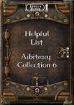 RPG Item: Arbitrary Collection 06