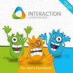Board Game: INTERACTION: No more boredom!