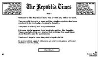 Video Game: The Republia Times