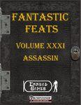 RPG Item: Fantastic Feats Volume 31: Assassin