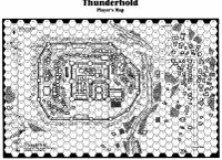 RPG Item: Thunderhold Player's Map