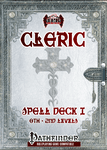 RPG Item: Cleric Spell Deck I (0th: 2nd)