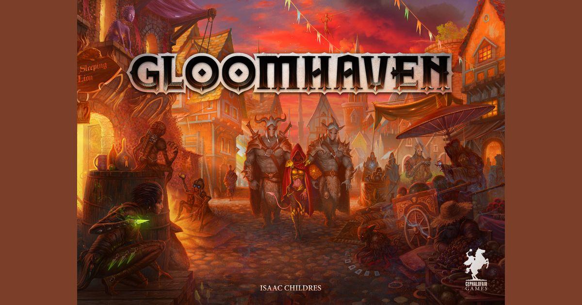 Gloomhaven Board Game Boardgamegeek