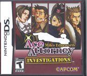Video Game: Ace Attorney Investigations: Miles Edgeworth