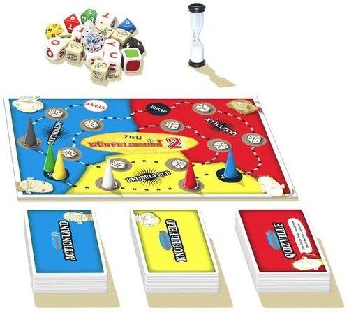 Board Game: DICEcapades! Quick Play Edition