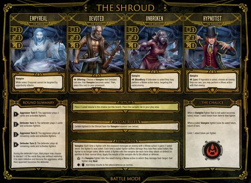 Board Game: Dire Alliance: Horror