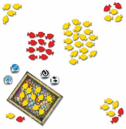 Board Game: Schollen Rollen