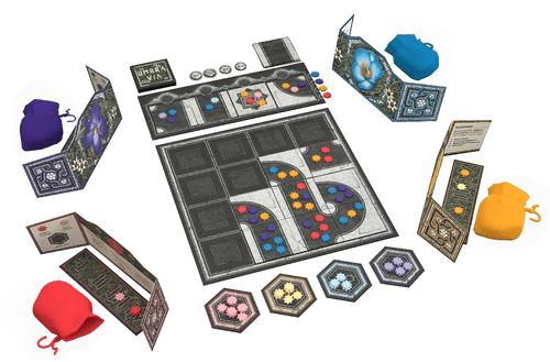 Board Game: Umbra Via