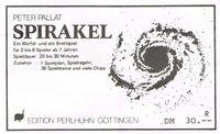 Board Game: Spirakel