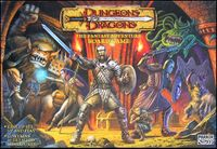 Board Game: Dungeons & Dragons: The Fantasy Adventure Board Game