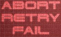 RPG: Abort Retry Fail