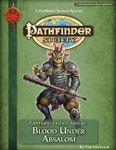 RPG Item: Pathfinder Society Special: Blood Under Absalom