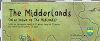 RPG Item: The Midderlands A2 Map