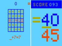 Video Game: Elementary Math/Bingo Math