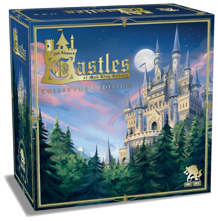 Board Game: Castles of Mad King Ludwig: Collector's Edition