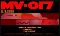 Video Game: MV-017 Metal Armor