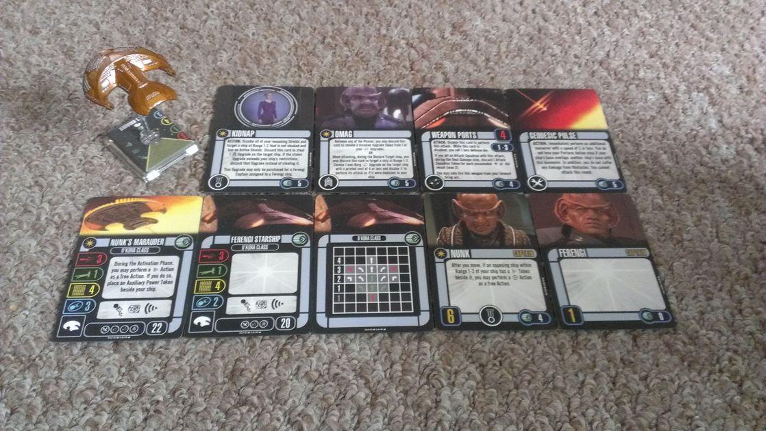 Star Trek Attack Wing IRW Belak Reinforcement Booster