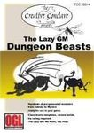 RPG Item: The Lazy GM: Dungeon Beasts