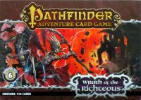 Board Game: Pathfinder Adventure Card Game: Wrath of the Righteous Adventure Deck 6 – City of Locusts