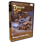 Board Game Accessory: Dungeon Saga: Dungeon Furniture Pack