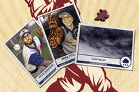 Board Game: Bottom of the 9th: Season 1 Promo Pack