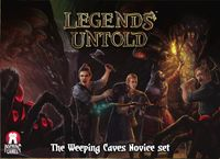 Board Game: Legends Untold: Weeping Caves Novice Set