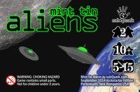 Board Game: Mint Tin Aliens