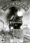 Board Game: Age of Steam Expansion #2: Western United States and Germany