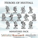 Board Game Accessory: Mistfall: Miniatures Pack